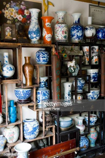Antique pottery for sale, Qibao.