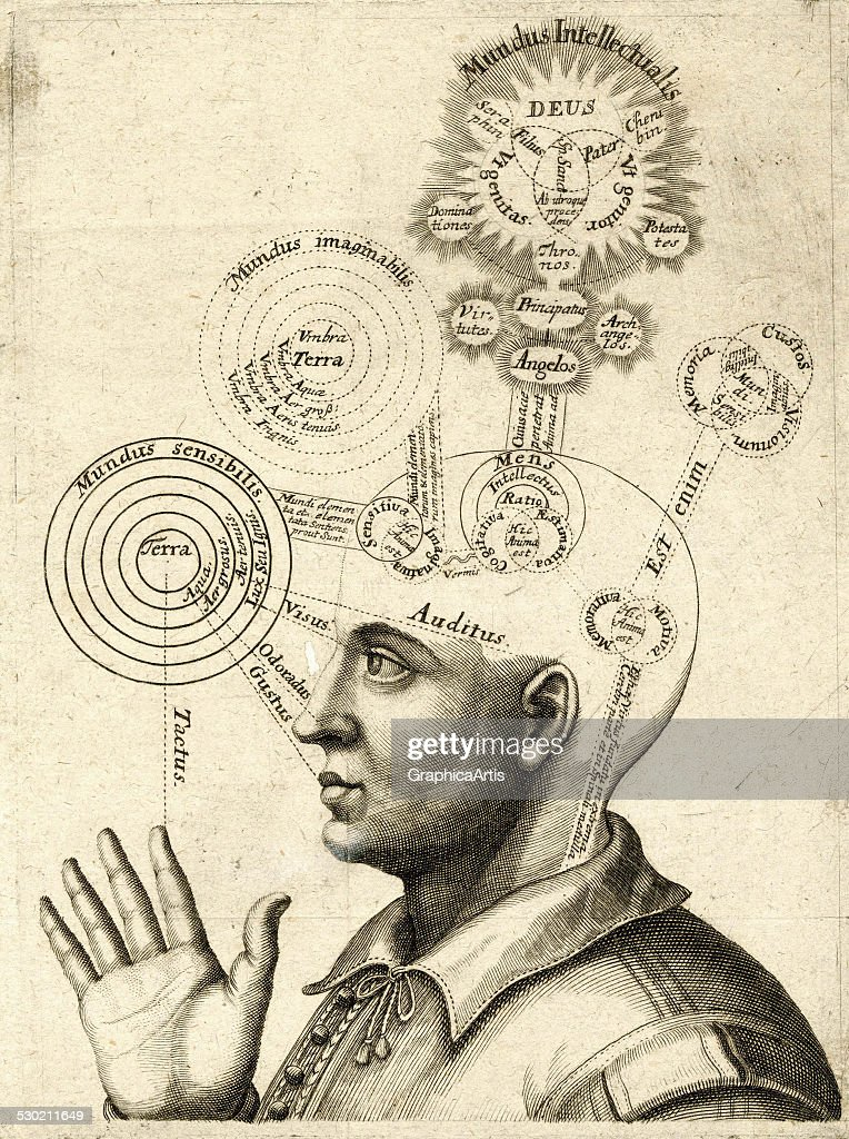 Diagram Of Human Thought : News Photo