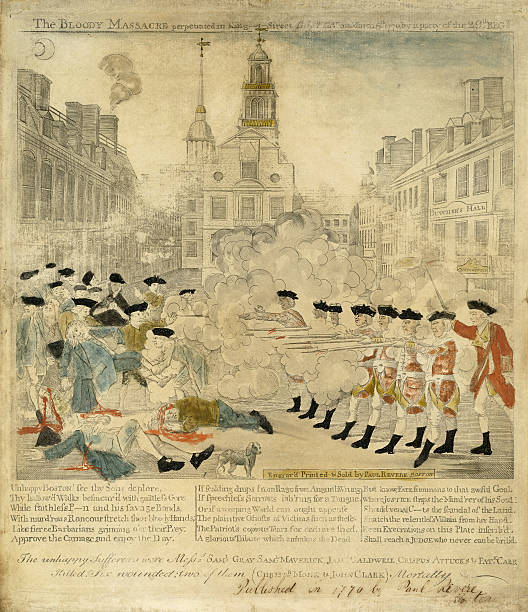 MA: 5th March 1770 - 250 Years Since The Boston Massacre