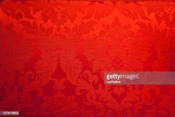 Antike Rote Gewebe