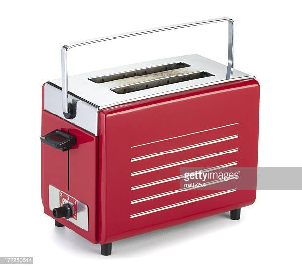 antique retro toaster - toaster appliance stock pictures, royalty-free photos & images