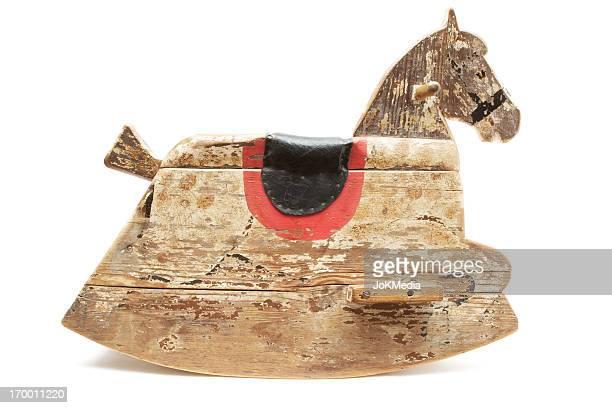 Antique Cheval à bascule