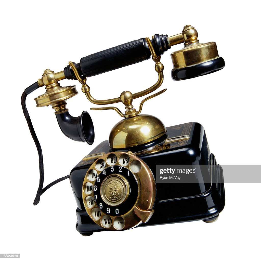 Antique Rotary Telephone High-Res Stock Photo - Getty Images