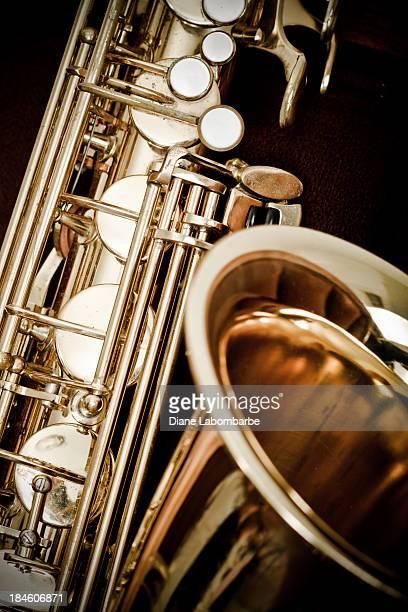 Antique Saxophone