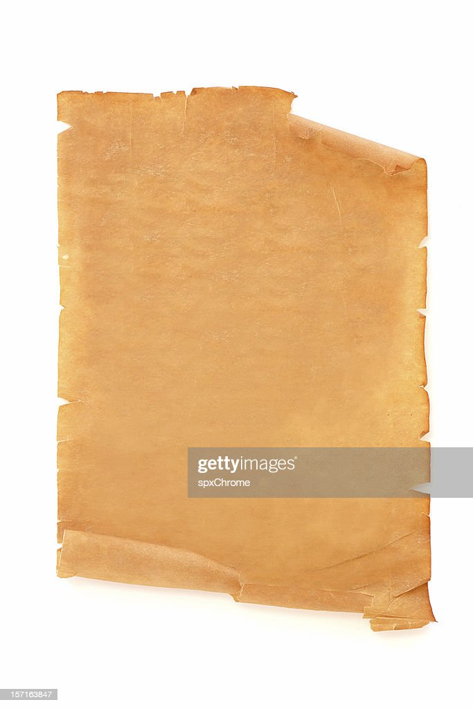 Antique Scroll Document : Stock Photo