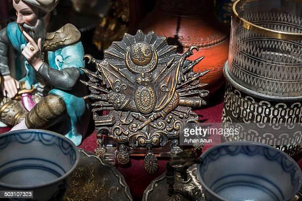Antique Shop in Grand Bazaar of Istanbul,Turkey