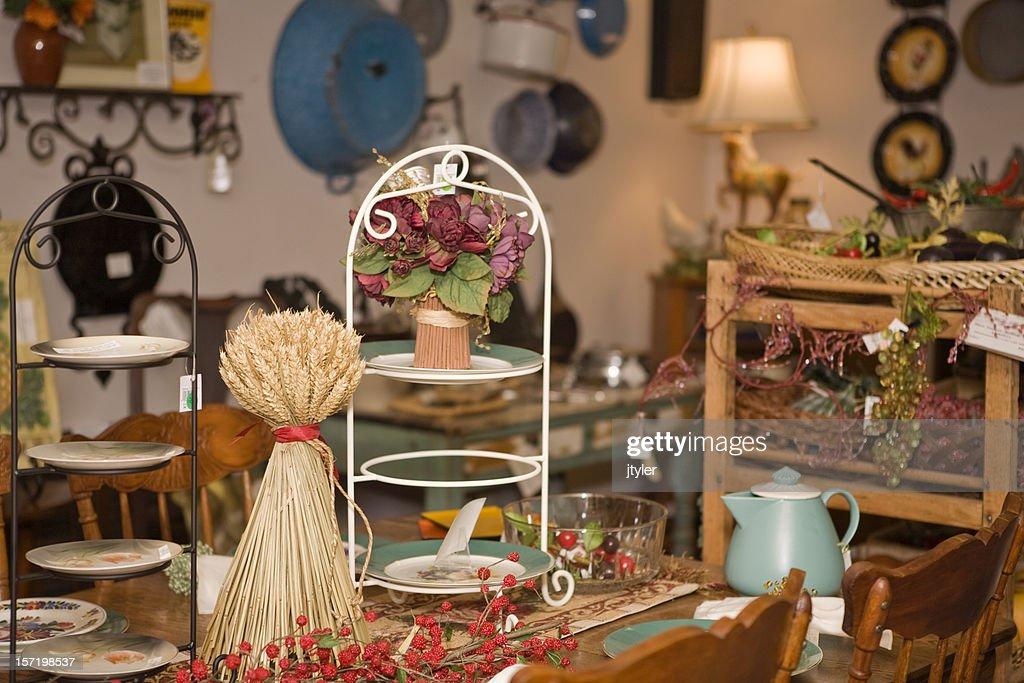Antique Shop : Stock Photo
