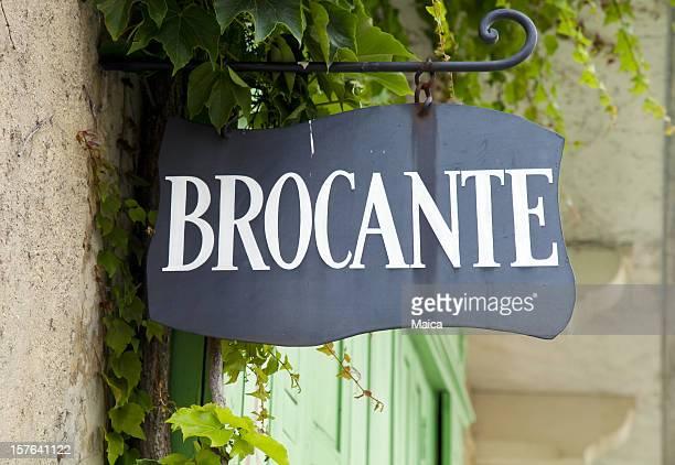 Antiquitätengeschäft-Frankreich