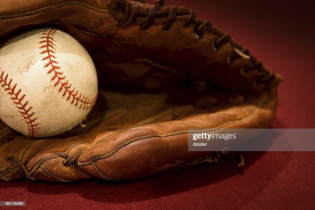 Antique Sports Baseball I : Stock Photo