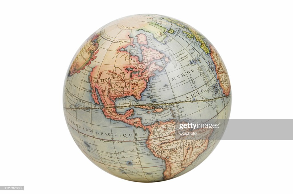 Antique Style Globe High-Res Stock Photo - Getty Images