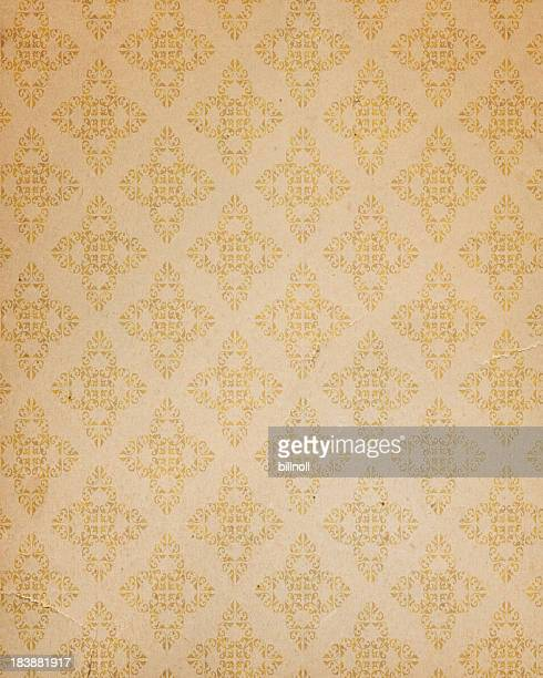 antique style wallpaper - art nouveau stock pictures, royalty-free photos & images