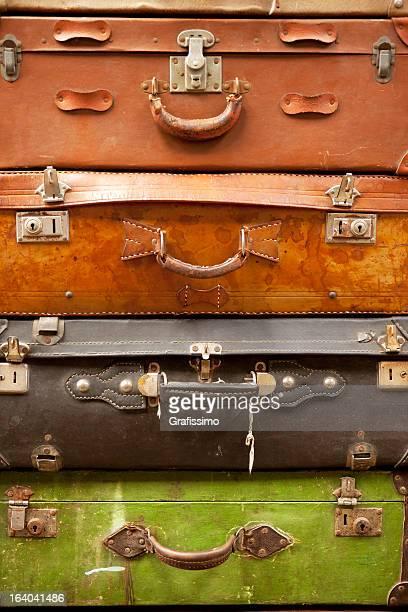 Antique les valises