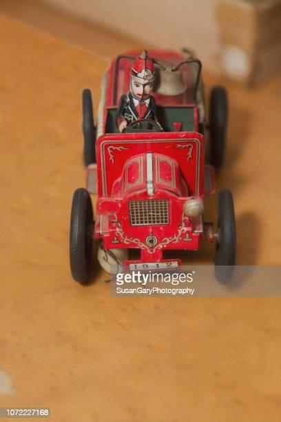 Antique Tin Firetruck