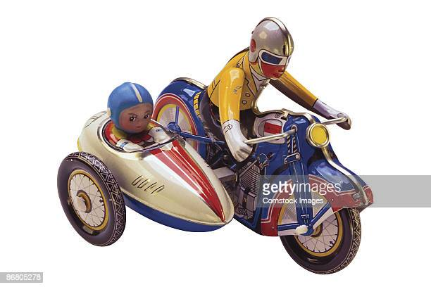 Antique toy motorcycle