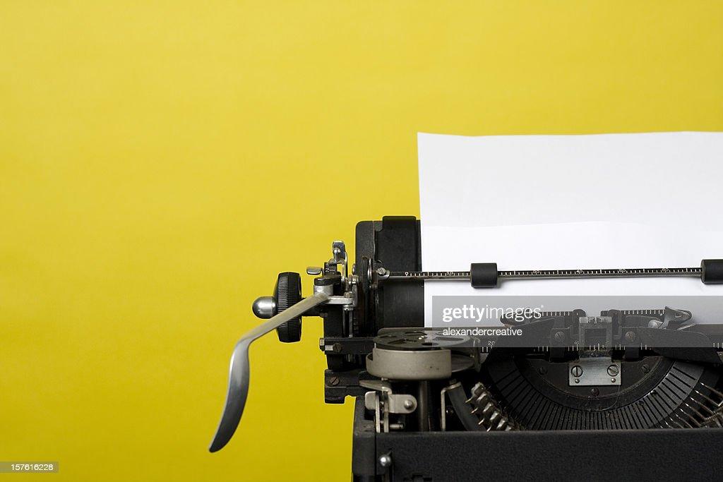 Antike Schreibmaschine : Stock-Foto