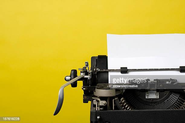 antique typewriter - authors stockfoto's en -beelden