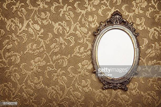 antique vintage picture frame - 18th century style stock pictures, royalty-free photos & images