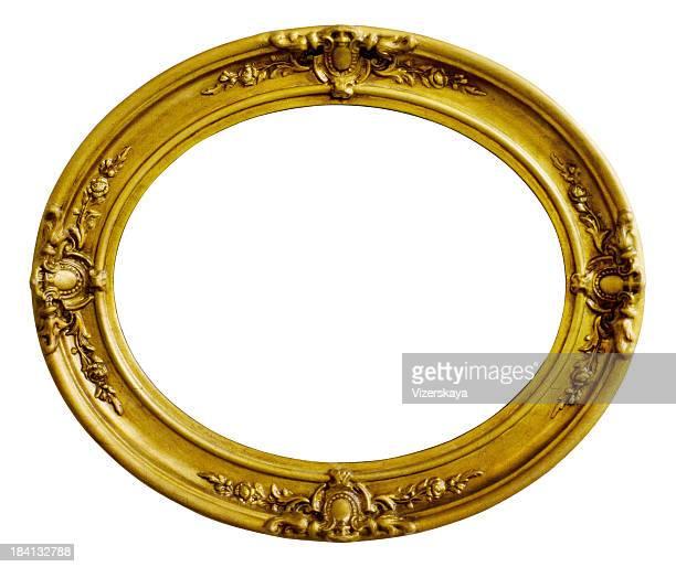 Antique wooden Golden Picture Frame