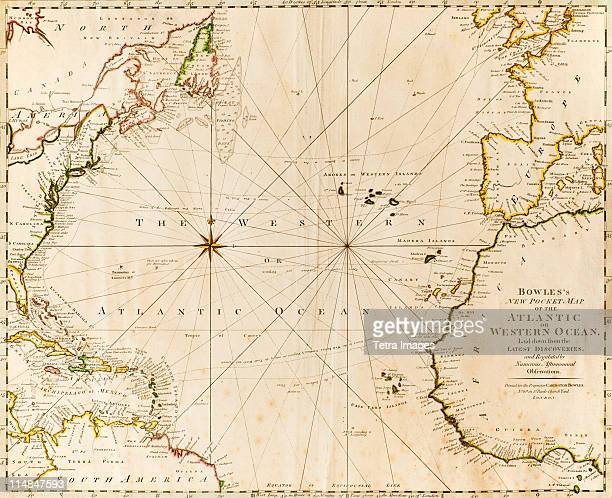 antique world map - world map stock photos and pictures