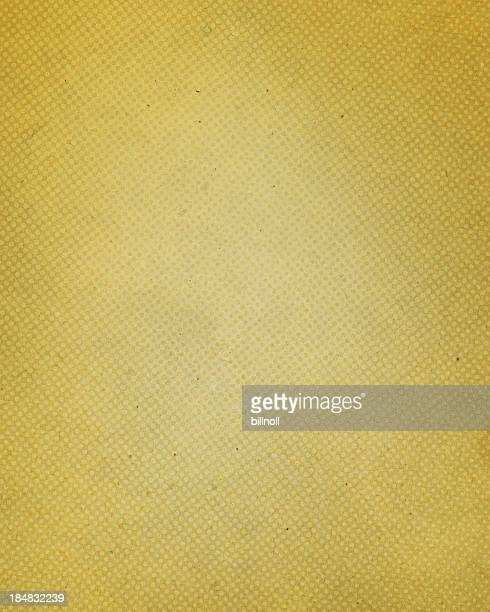 antique yellow paper with halftone