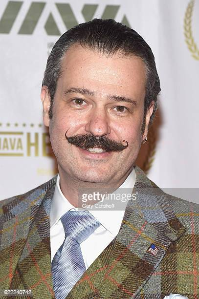Antiques Roadshow appraiser Nicholas D Lowry attends the 2016 IAVA gala at Cipriani 42nd Street on November 10 2016 in New York City