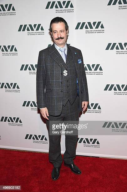 Antiques Roadshow appraiser Nicholas D Lowry attends the 9th Annual IAVA Heroes Gala at Cipriani 42nd Street on November 12 2015 in New York City