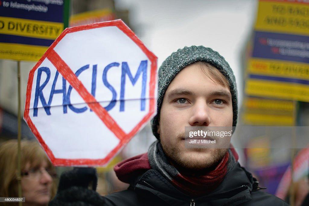Anti Racism Demonstration : News Photo