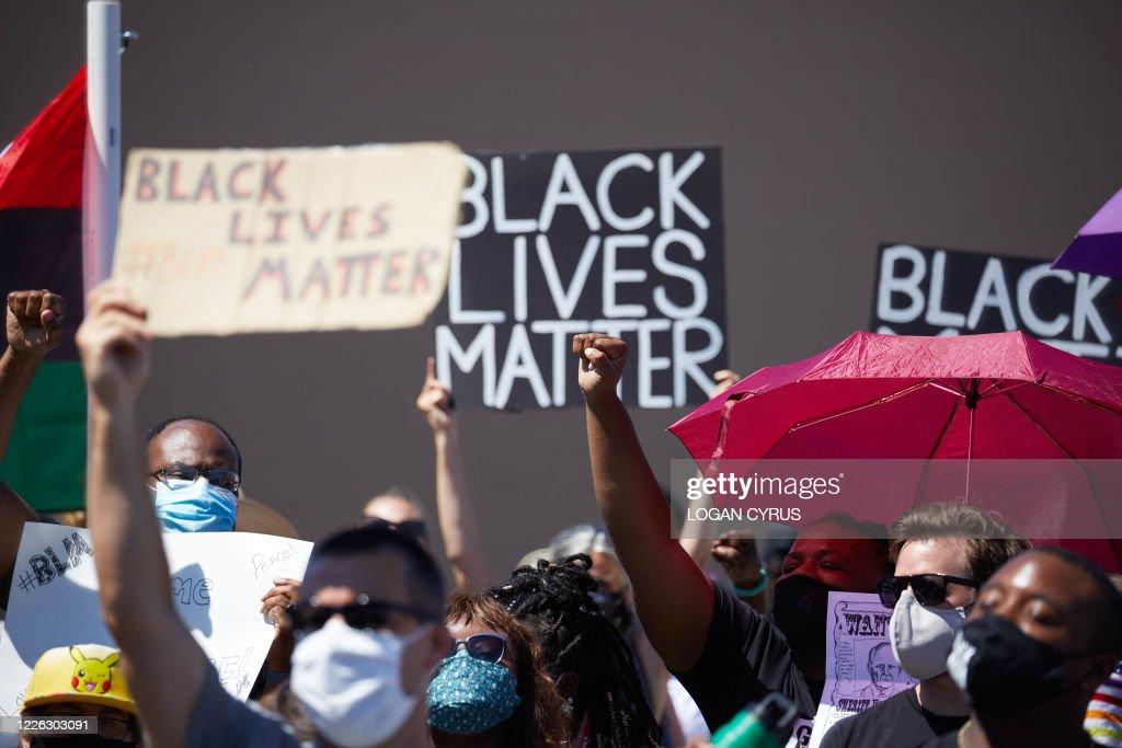 US-POLITICS-RACISM-PROTEST : News Photo
