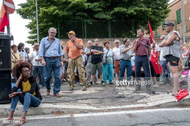 Antiracist and antifascist popular demonstration for welcome and inclusion The event took place at the same time as that of the farright Casapound...
