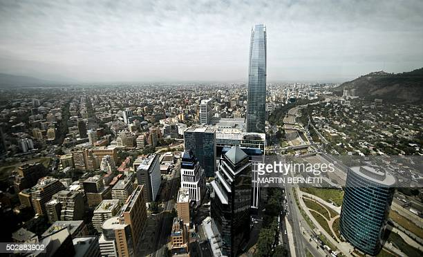 Antiseismic buildings in Santiago on November 18 2015 Chile the most seismic country in the world has had to be provided with infrastructure and...