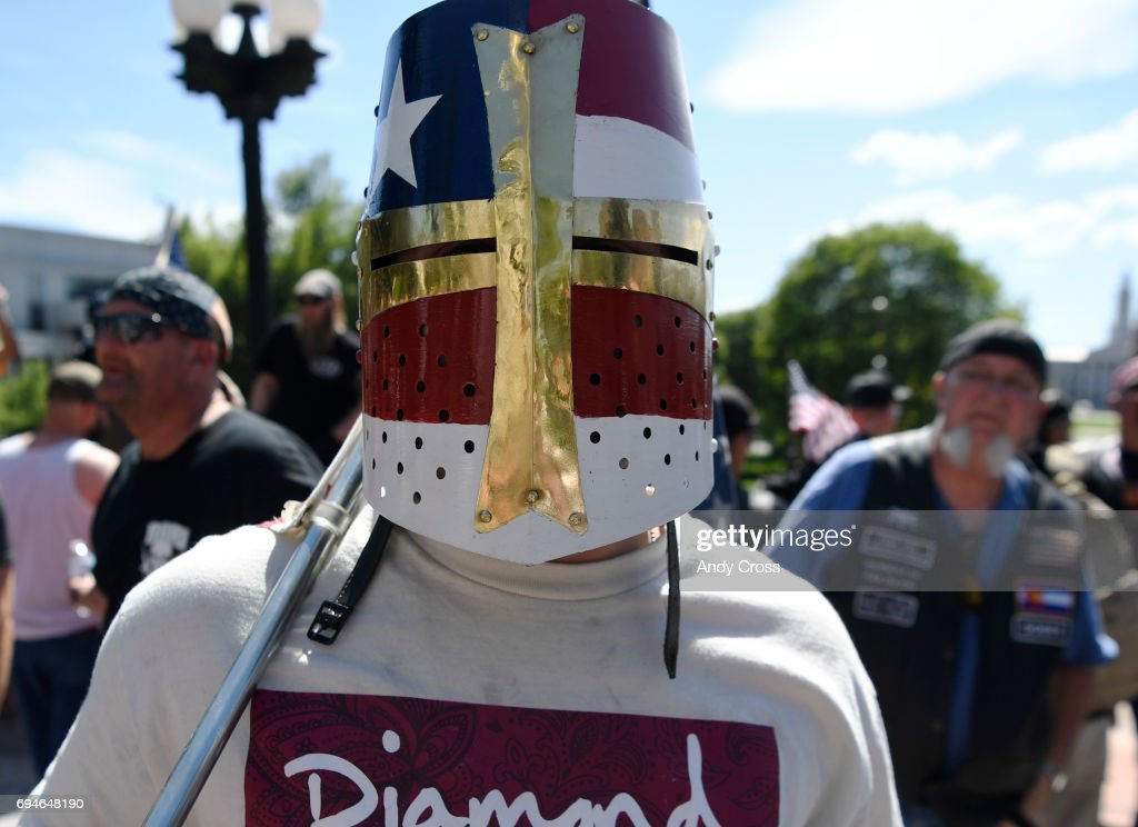 Denver Anti-Sharia Law Rally : News Photo