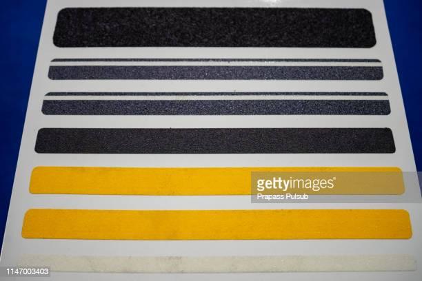 anti-slip tapes - 滑る ストックフォトと画像