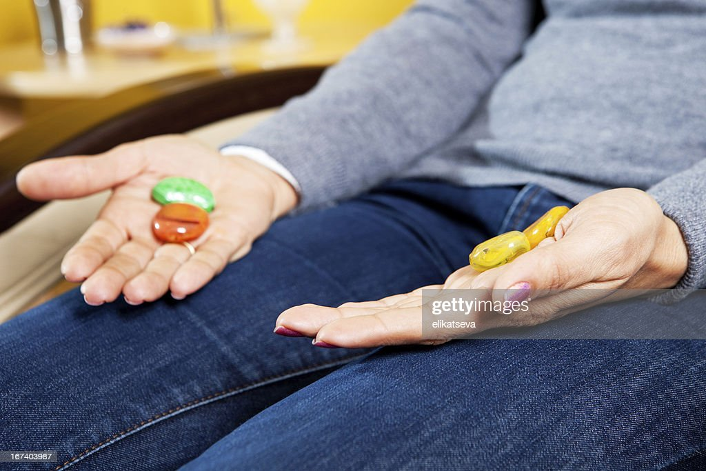 Antistress treatment : Stock Photo