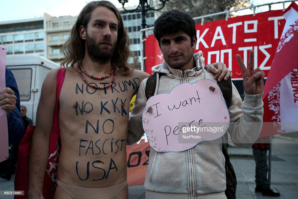 Women's March in Athens : News Photo