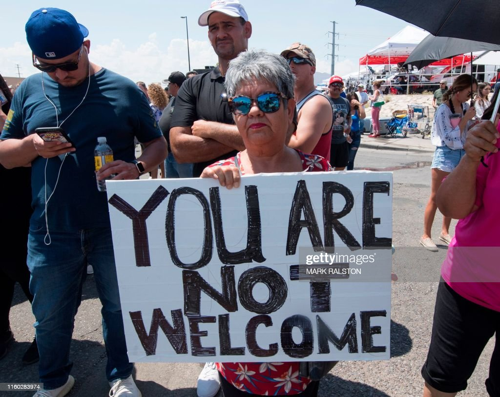 US-POLITICS-TRUMP-SHOOTING-CRIME-PROTEST : News Photo