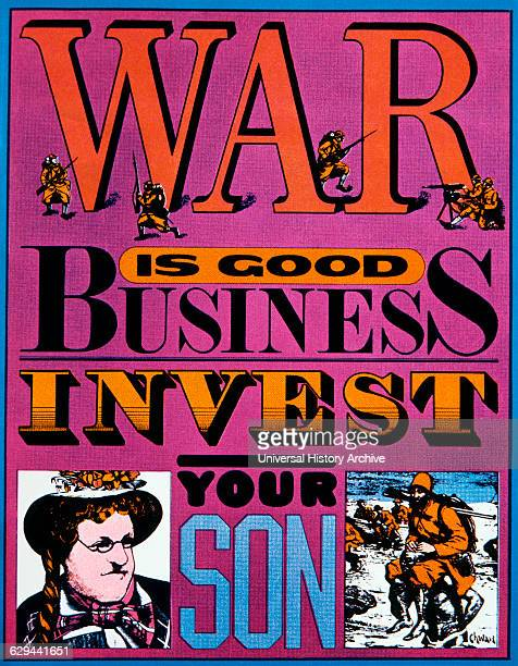 AntiVietnam War Poster War is Good Business Invest Your Son Seymour Chwast 1967