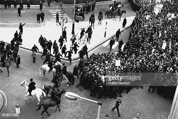Anti-Vietnamese War Demonstration, London, 1968