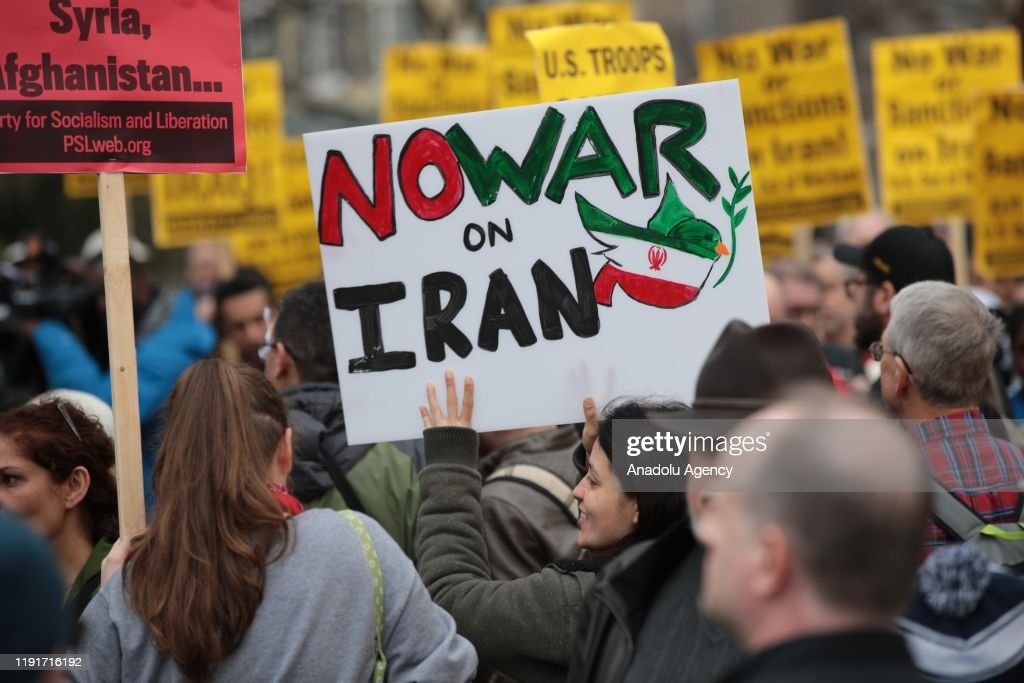 Anti-war rally in Washington : Nieuwsfoto's