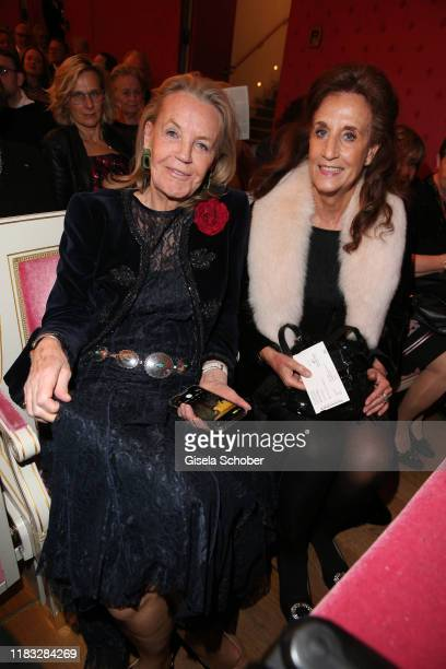 Antje Debus and Renate von Rehbinder at the opera premiere of Die tote Stadt by Erich Wolfgang Korngold at Bayerische Staatsoper on November 18 2019...