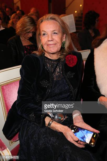 Antje Debus at the opera premiere of Die tote Stadt by Erich Wolfgang Korngold at Bayerische Staatsoper on November 18 2019 in Munich Germany