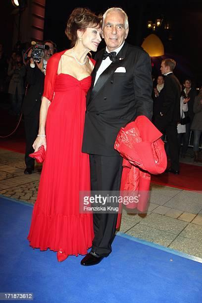 Antje Katrin Kühnemann And Husband Dr Jörg Gühring the 'German Opera Ball' In The Old Open In Frankfurt