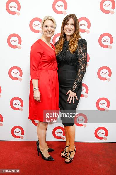 Antje Meyer And Qvc Presenter Thania Metternich Attend A Qvc Event Nachrichtenfoto Getty Images
