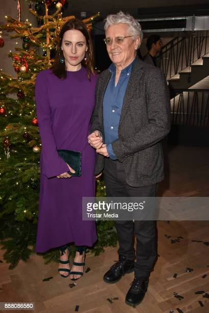 Antje Traue and Henry Huebchen during the Medienboard PreChristmas Party at Schwuz at Saeaelchen on December 7 2017 in Berlin Germany