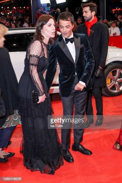 Antje Traue and Nikolai Kinski attend the opening ceremony and 'The Kindness Of Strangers' premiere during the 69th Berlinale International Film...