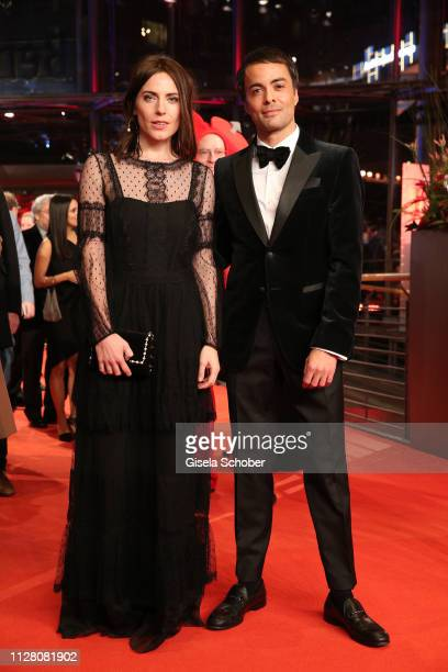 "Antje Traue and Nikolai Kinski attend the ""The Kindness Of Strangers"" premiere during the 69th Berlinale International Film Festival Berlin at..."
