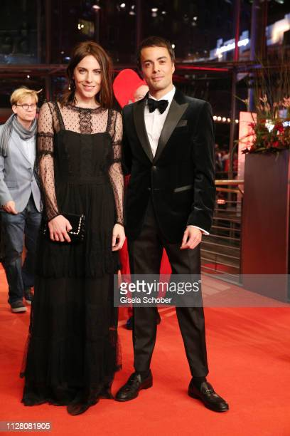Antje Traue and Nikolai Kinski attend the 'The Kindness Of Strangers' premiere during the 69th Berlinale International Film Festival Berlin at...