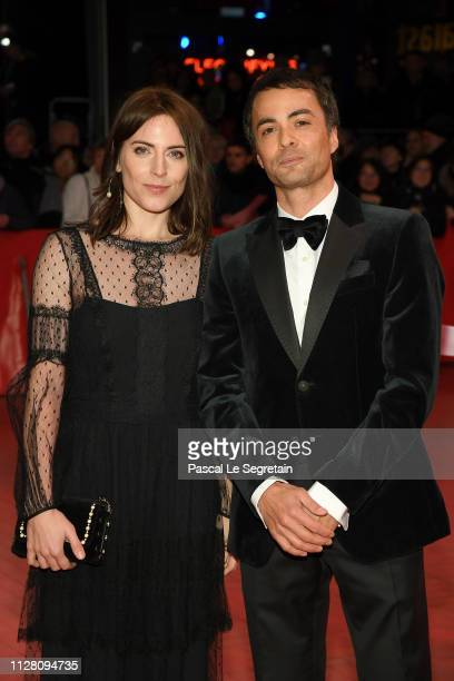 Antje Traue and Nikolai Kinski attend the The Kindness Of Strangers premiere during the 69th Berlinale International Film Festival Berlin at...