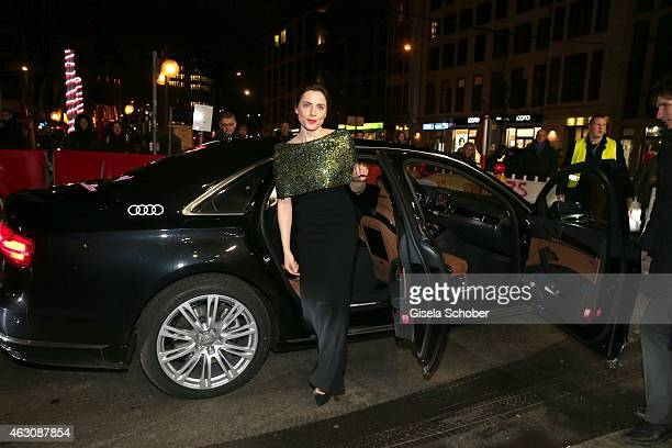 Antje Traue arrvies for the 'Woman in Gold' premiere during the 65th Berlinale International Film Festival at Friedrichstadtpalast on February 9 2015...