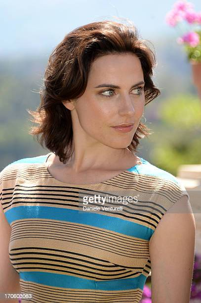 Antje Traue attends 'Man of Steel' Photocall during the Taormina Filmfest 2013 at Hotel Timeo on June 15 2013 in Taormina Italy