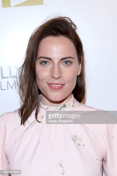 Antje Traue attends the 2018 Hollywood Film Festival Honors Ceremony at Hollywood Roosevelt Hotel on October 25, 2018 in Hollywood, California.